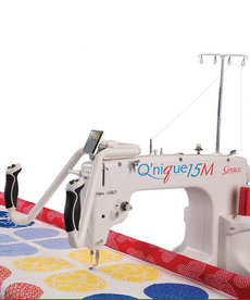 """Grace Qnique 15M Manual Mode for Free Motion Quilting, No Stitch Regulation, 15x9"""" Longarm Quilting Machine, No Stitch Regulation"""