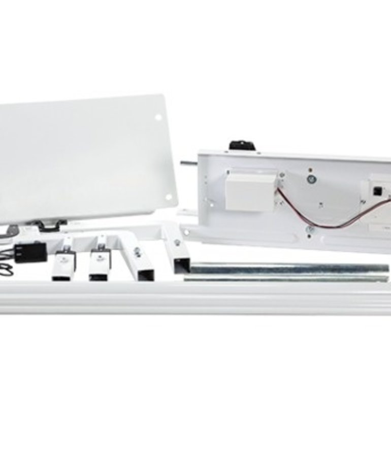 """Grace Grace CON-GLI Moving Gliding Rail Kit for 8, 10 or 12' New Continuum I (Not II) Quilting Frames with Qnique 15 19 21"""" Machines, Includes Idler Rail"""