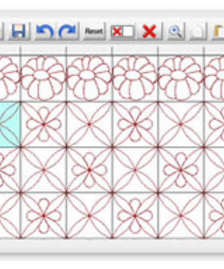Grace Quilters Creative Design PRO Quilting Software by QuiltCAD +True Type Fonts, USB Stick