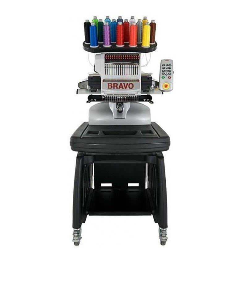 Melco Amaya Bravo 16-Needle Commercial Embroidery Machine