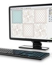 Grace Quilters Creative Design Software on USB Stick, Create Quilting Templates Designs, 200 Built in Patterns, Photo Trace, Pantograph (Quilt CAD+)