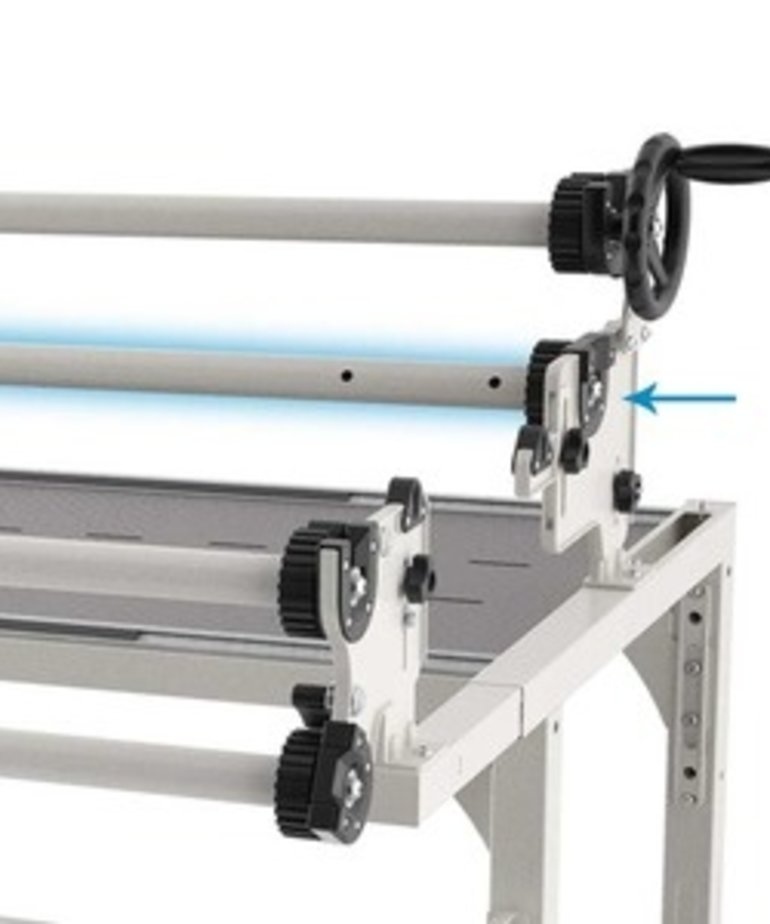 Grace Idler Rail for New Continuum II Machine Quilting Frame Only 8, 10, (or 12' Extended) Not for Original Continuum I Frame