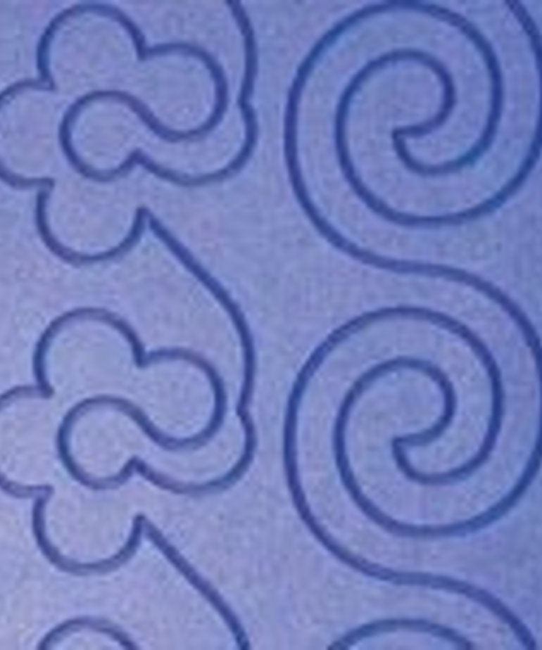 Grace PPPopcorn6 Pattern Perfect Grooved Plastic Templates, 6 Popcorn Swirls for Your Pattern Perfect Stylus.