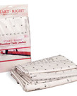 """Grace Start Right 136"""" Grid Quilt Frame Cotton Cloth 3 Leaders +Velcro for King Size Quilting Frames"""