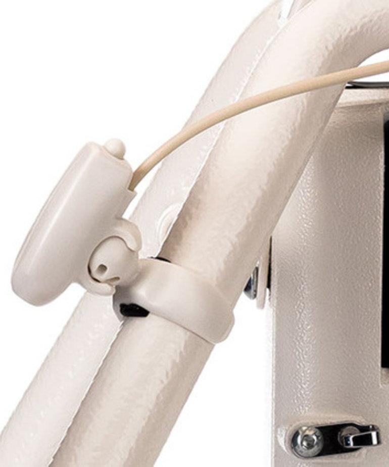 "Grace Qnique Plug In Laser Stylus +Universal Bracket Attaches Between Wheels on Qnique 14+ 15R Q19 Q21"" DQLT15 Quilt Machines to Follow Paper Patterns"
