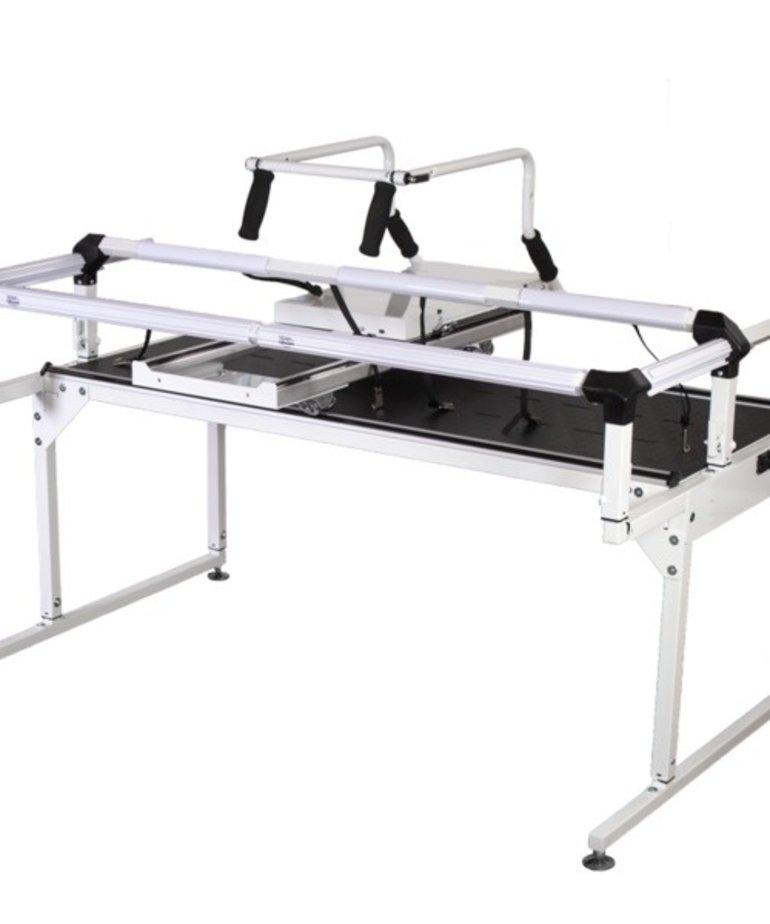 Grace Grace QZone 4.5' Hoop Frame PRO Rigid V-Track Rails +4 Dual Wheels +0112228 Table Inserts 6 +0113370 Cloth Leaders +Top Plate/Handles* +Channel Locks