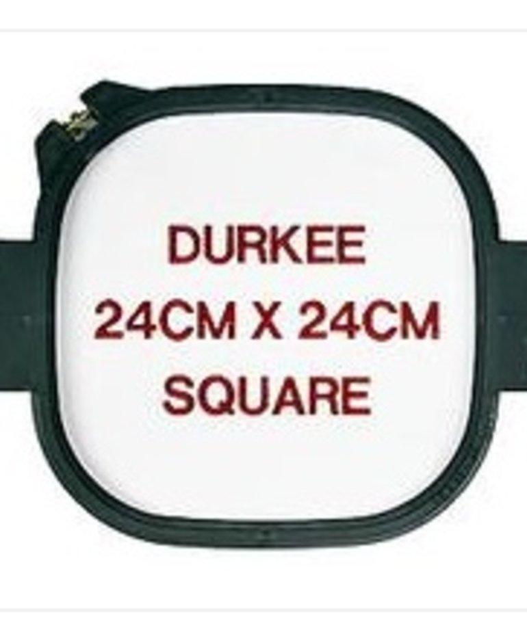 Durkee 24cm x 24cm Tubular Hoop, 400 Needle Spacing, ZSK Compatible