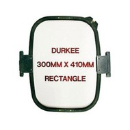 Durkee Durkee 12 X 16 (300mm x 410mm) Rectangular Hoop, 400MM Needle Spacing, Meistergram Compatible