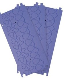 Grace Pattern Perfect Grooved Templates, Hearts Design, 3 Plates for Grace Machine Quilting Frames- Specify Current Model*