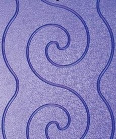 Grace Pattern Perfect Grooved Templates, Spiral Design, 3 Plates for Grace Machine Quilting Frames
