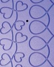 Grace Grace Pattern Perfect Grooved Templates, Hearts Design, 2 Plates for Grace Machine Quilting Frames- Specify Current Model*