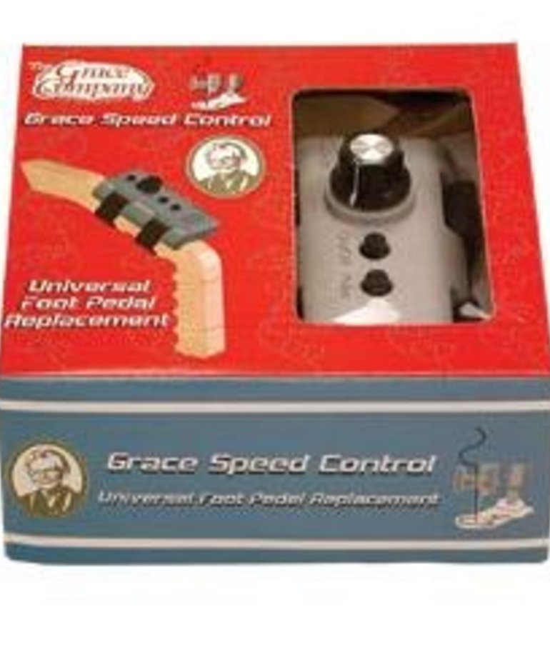Grace Grace Variable Speed Control Dial, Push Button Start Stop, 3-Prong Plug In to Janome 1600P, Elna 7100, Singer Pfaff Grand Quilter, Viking Mega Quilter