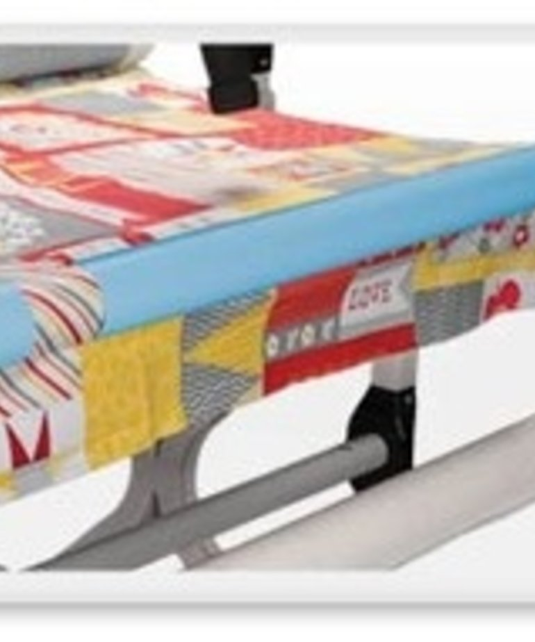 """Grace Grace Start Right 4 of 24i Long Half Round Quilt Clips Holders Snap On Rails Float Fabrics on Quilting Frames, for 1.5"""" Blue or 2"""" Pink Diameter Rails"""