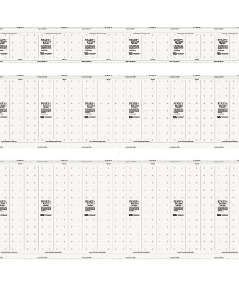 Grace Grace 01-10747 Cotton Precision 3 Cloth Leaders Bulk By The Yard, one for each rail of your quilting frame, without velcro strips