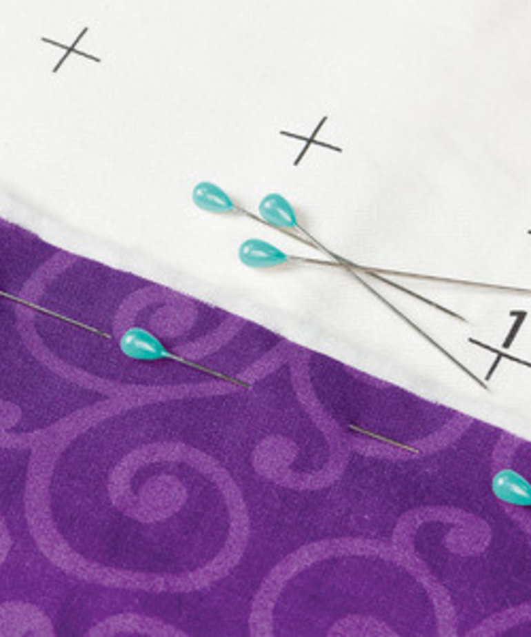 Grace Grace 150 Quilting Pins 2in for Longarm Quilting, Attaching to Cloth Leaders