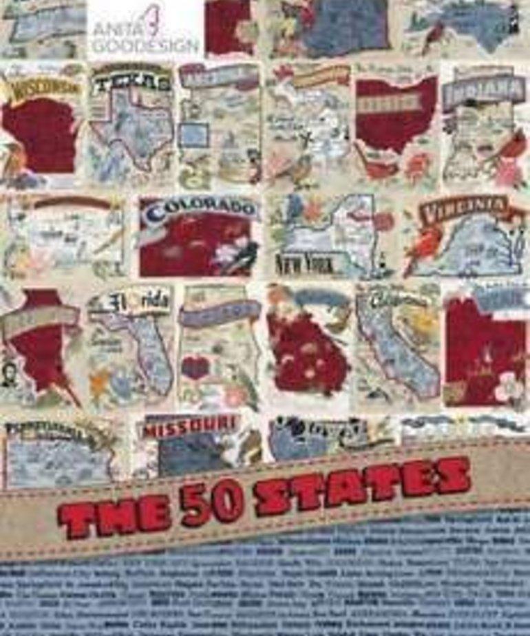 Anita Goodesign 50 States - Individual States: 50 States Georgia