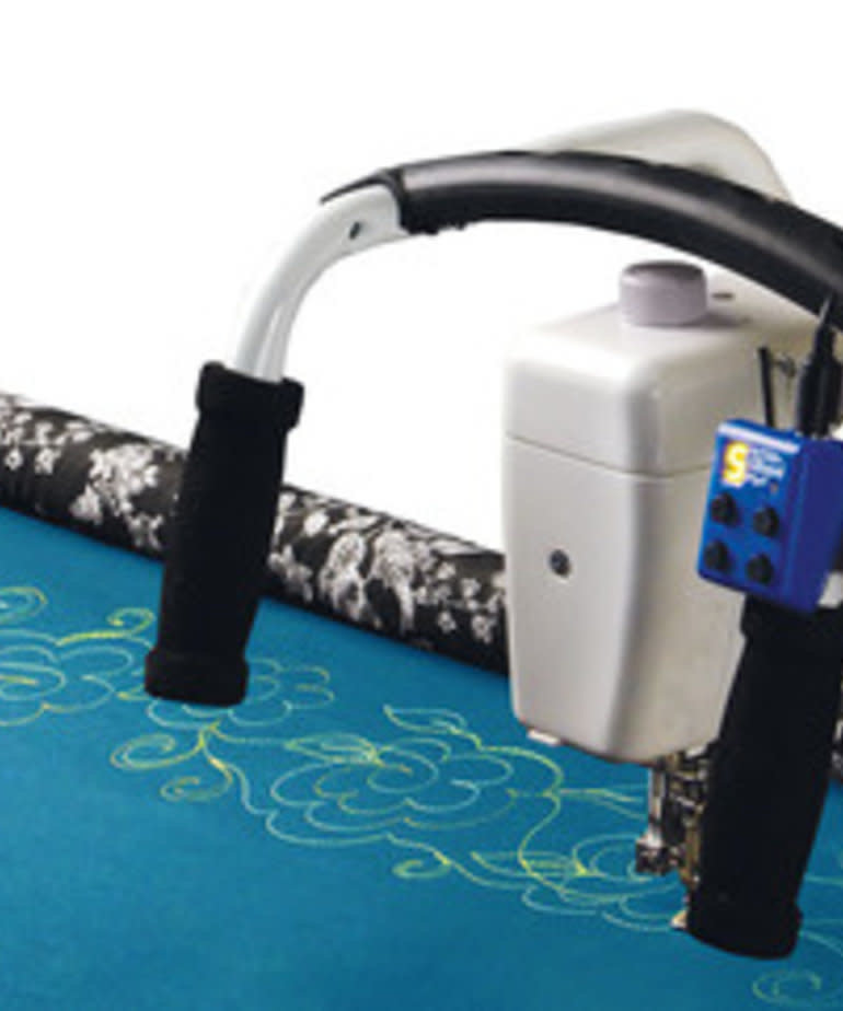 Grace Multi Function Sure Stitch Length Regulator with Speed Control for Free Motion Quilting on Frames, 2 Encoders, Remote Start Stop, Needle Up Down