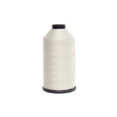 Fil-Tec Bonded Nylon 138 weight 1Lb cone Color - White