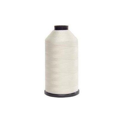 Fil-Tec Bonded Nylon 92 weight 1Lb cone Color - White