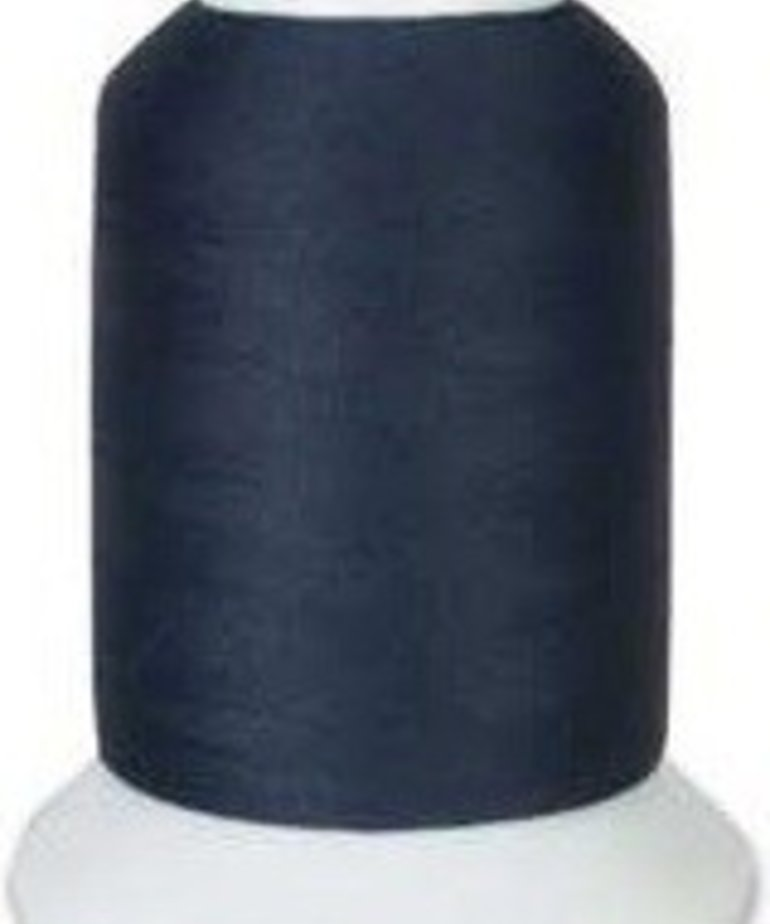 Checker Woolly Nylon Thread 1000m 140 Dark Navy