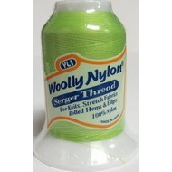 SALE WOOLLY NYLON THREAD SEA MIST COLOR SERGER STRETCHY 1000M