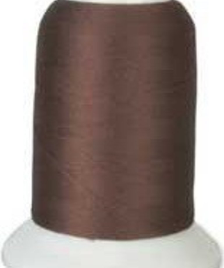 Checker Woolly Nylon Thread 1000m 171 Medium Brown