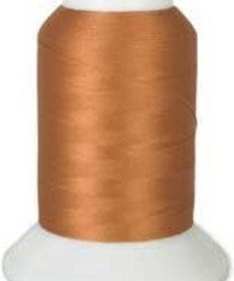 Checker Woolly Nylon Thread 1000m 173 Camel Copper Tone