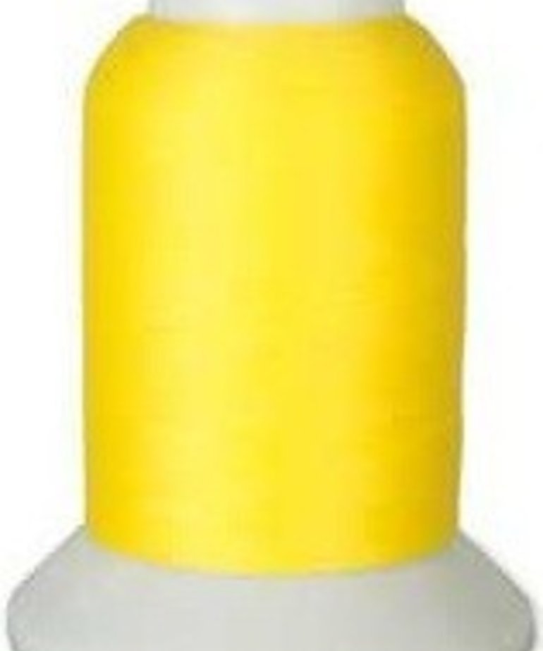 Checker Woolly Nylon Thread 1000m 181 Bright Yellow