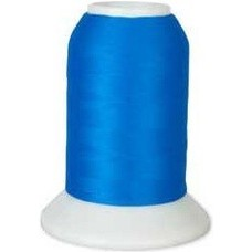 Checker Woolly Nylon Thread 1000m 186 Bright Blue