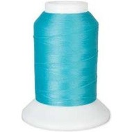 Checker Woolly Nylon Thread 1000m 226 Turquoise