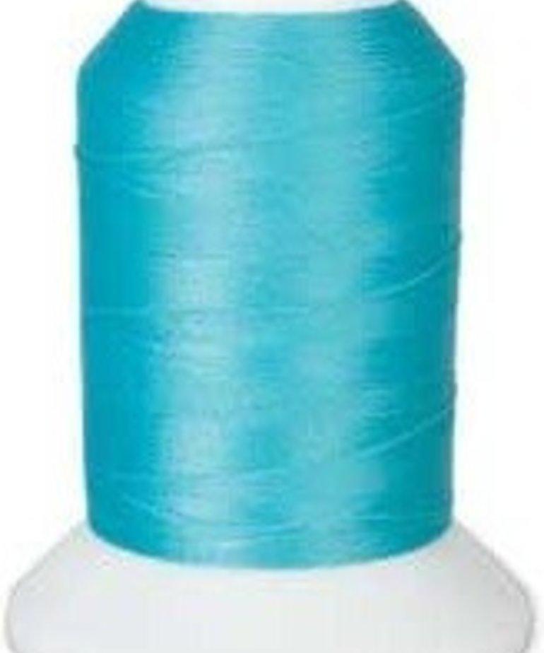 Checker Woolly Nylon Thread 1000m 226 Turquoise