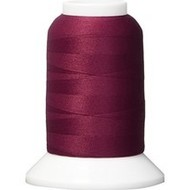 Checker Woolly Nylon Thread 1000m 024 Burgundy