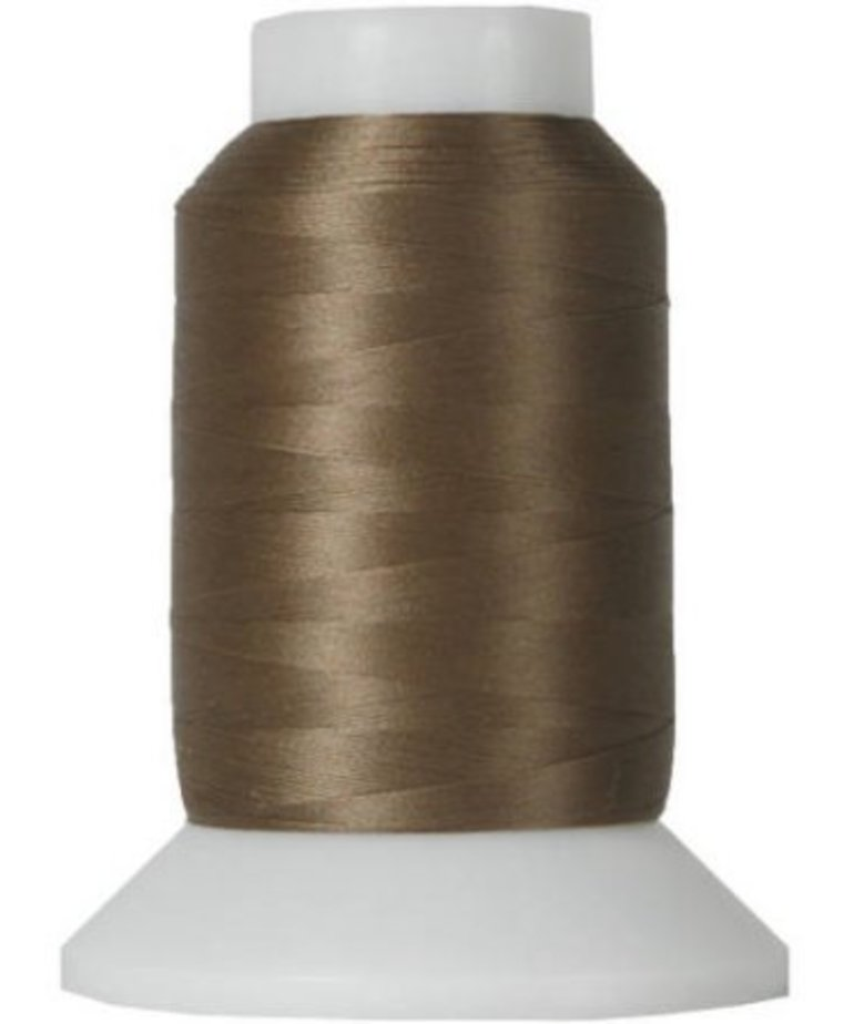 Checker Woolly Nylon Thread 1000m 078 Brown
