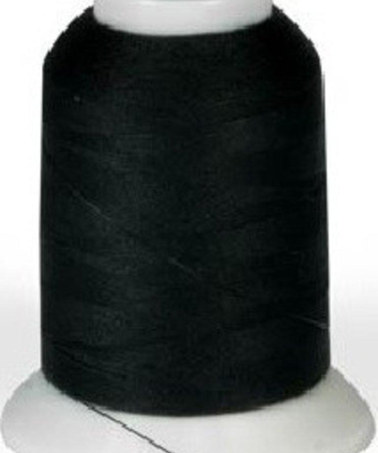 Checker Woolly Nylon Thread 1000m Black