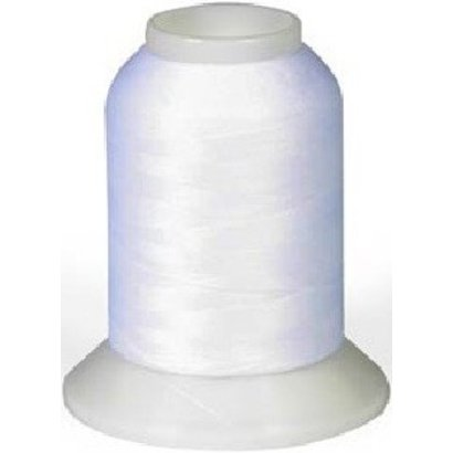 Checker Woolly Nylon Thread 1000m White