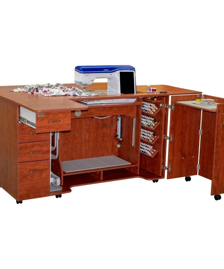 Horn of America Model 8479 Tall Combo Sewing / Quilting Cabinet