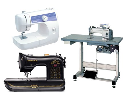 Machines for home and commercial use.