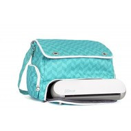 Graphtec Portrait teal tote bag