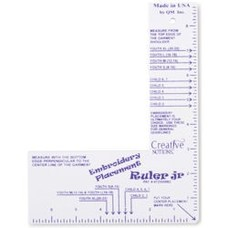 Tacony Embroidery Placement Ruler-JR