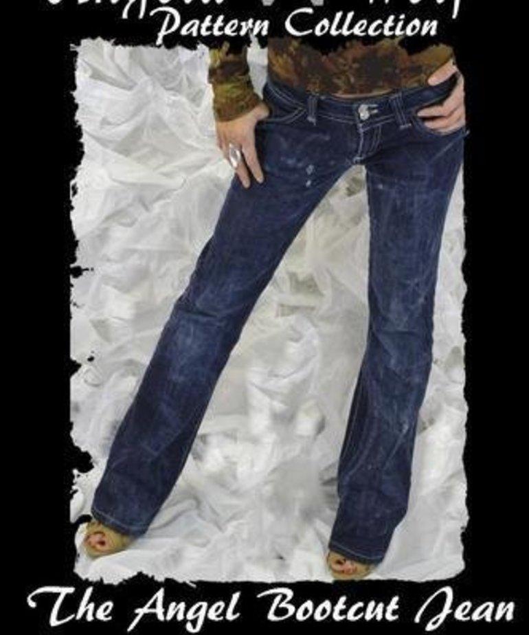Angela Wolf The Angel Boot Cut Jean Pattern (0-16)