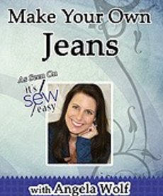 Angela Wolf Make Your Own Jeans- DVD