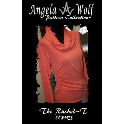 Angela Wolf The Ruched-T Pattern- Misses XXS-XL