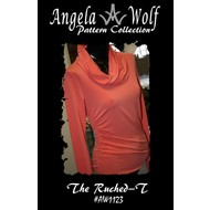 Angela Wolf The Ruched-T Pattern- Misses XXL-5X