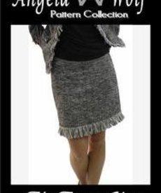 Angela Wolf The Fringe Skirt Pattern (0-16)