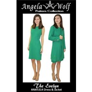 Angela Wolf The Evelyn Dress & Jacket Pattern (size 0-18)
