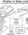 HoopMaster HoopMaster PR 600 series and 1000 Complete Kit