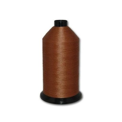 Fil-Tec Bonded Nylon 138 weight 1Lb cone Color - Gold Brown