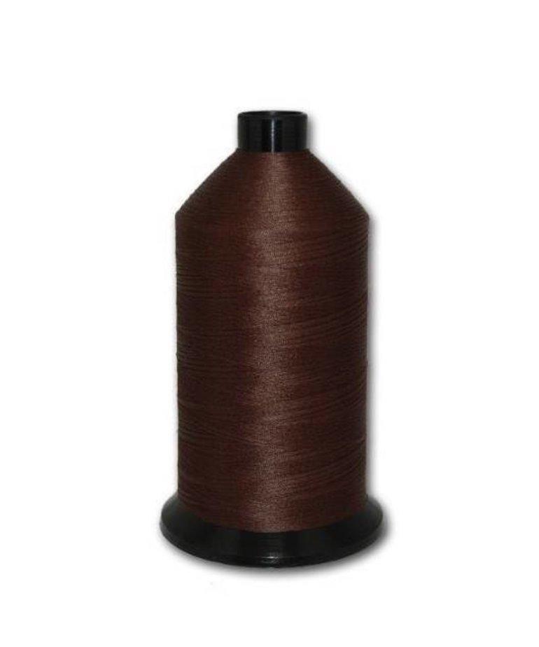 Fil-Tec Bonded Nylon 69 weight 1Lb cone Color - Dark Brown