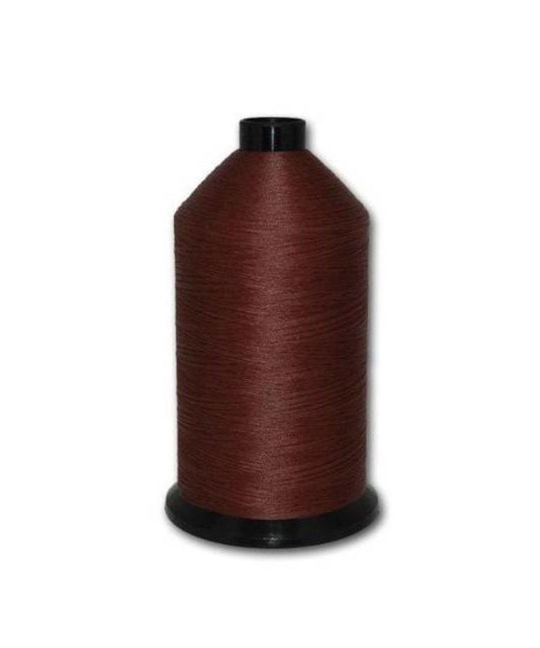 Fil-Tec Bonded Nylon 69 weight 1Lb cone Color - Dark Mahogany