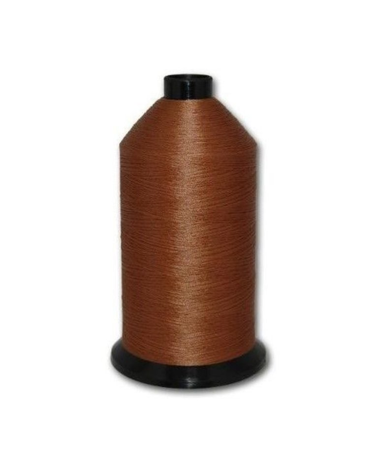 Fil-Tec Bonded Nylon 69 weight 1Lb cone Color - Gold Brown
